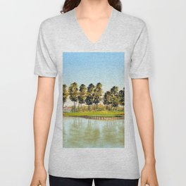 Sawgrass TPC Golf Course 17th Hole Unisex V-Neck