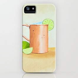 Moscow Mule iPhone Case