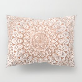 ROSE NIGHT MANDALA Pillow Sham