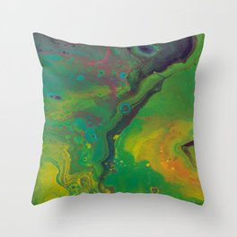 Unknown Landscape Throw Pillow