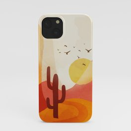 Hot Desert Day 7 iPhone Case