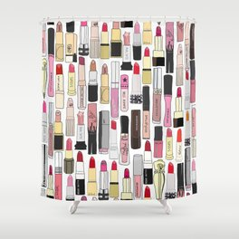 Lipstick Forever Shower Curtain