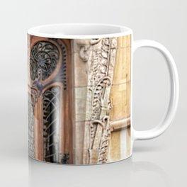 Art Nouveau 7th Arrondissement Paris France Ornate Doorway Coffee Mug