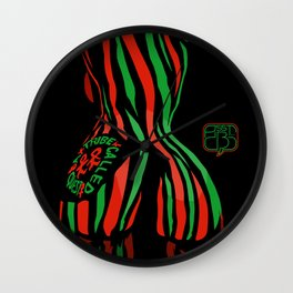 A Tribe Called Quest: new perspective Wall Clock