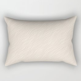 Cavern Clay SW 7701 Thin Pinstripe Angled Lines on Creamy Off White SW7012 Rectangular Pillow