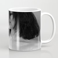 calm Mugs featuring Calm by Amy Harlow