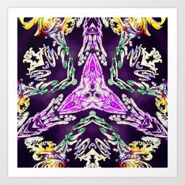 Crowned Emotion Art Print