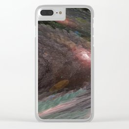 """Meteor Breakdown"" Clear iPhone Case"