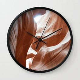 ANTELOPE CANYON X Wall Clock