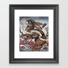 the Prince of a Thousand Enemies Framed Art Print