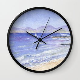 Redondo to Malibu Wall Clock