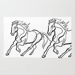 ~ghost.Horse~ Rug