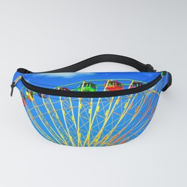 Colorful Ferris Wheel Fanny Pack