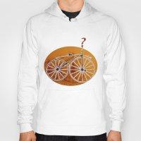 bike Hoodies featuring Bike by CrismanArt