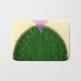 Watercolor Cactus Bath Mat