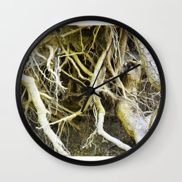 Unearthed Wall Clock