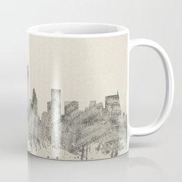 new york skyline music 2 Coffee Mug