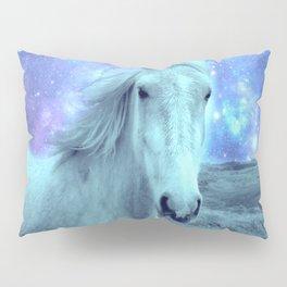 Celestial Dreams Horse Periwinkle Lavender Aqua Pillow Sham