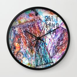 I Lost my Heart to the Ocean Wall Clock