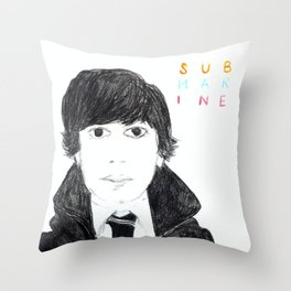 Oliver Tate Submarine Throw Pillow