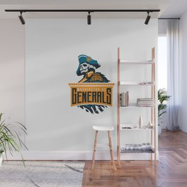 Washington DC Generals Wall Mural