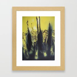 Abstractions in Nature 2 Framed Art Print