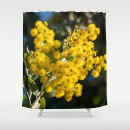 Golden Wattle Shower Curtain
