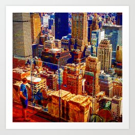 Tommy's Town Art Print