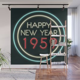 Happy New Year 1959! Wall Mural