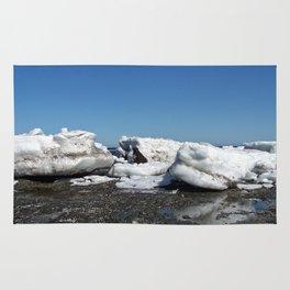 Icebergs and the big Dog Rug