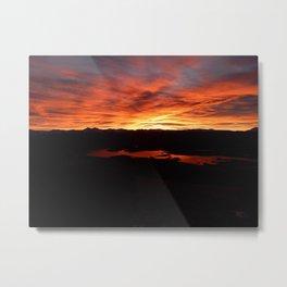 Dillon Sunrise Metal Print