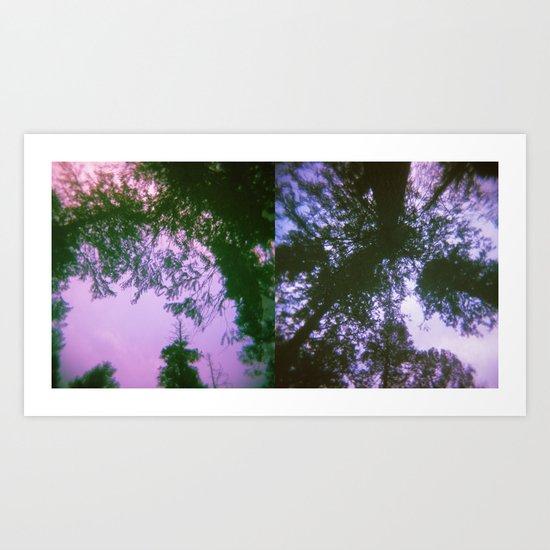 Tree Dreams Art Print