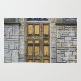 In the Door series, from my street photography collection of doors Rug