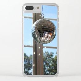 Disco Sunlight Clear iPhone Case