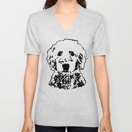 Goldendoodle Dog Gifts Unisex V-Neck