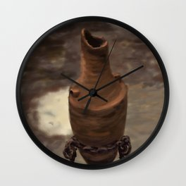 Amphora at The Arab Baths DP140105a Wall Clock
