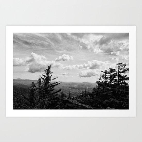 Overlook Art Print