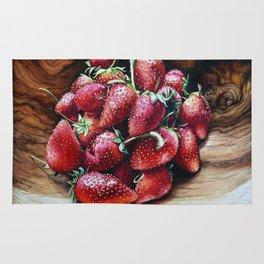 Swaziland Strawberries Rug