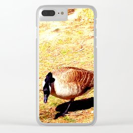 River Ducks 104 Clear iPhone Case
