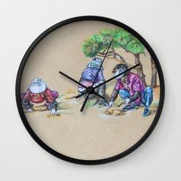 Gardening Ajummas Wall Clock