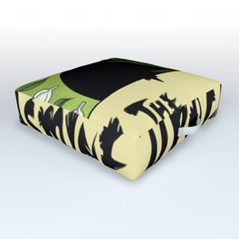 The Jasmine Dragon Outdoor Floor Cushion