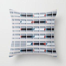 S03-2 - Facade Le Corbusier Throw Pillow