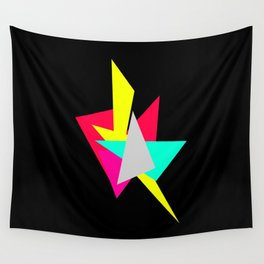 Colour Shards 02 Wall Tapestry