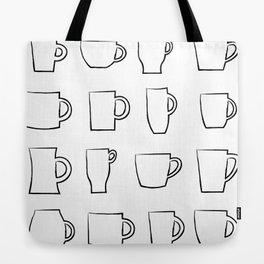 Mug Assortment Tote Bag