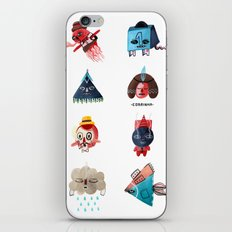 Monster Shapes iPhone & iPod Skin