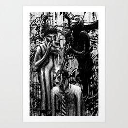 Brainwashers Art Print