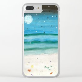 skyscapes 17 Clear iPhone Case