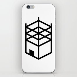 Building in Construction iPhone Skin
