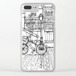 The Bike Clear iPhone Case