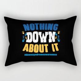 Down Syndrome Rectangular Pillow